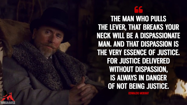 The Hateful Eight (2015) top movie quotes