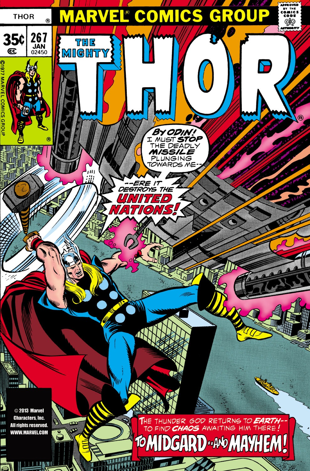 Thor (1966) 267 Page 1