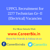 UPPCL Recruitment for 2277 Technician Gr-II (Electrical) Vacancies