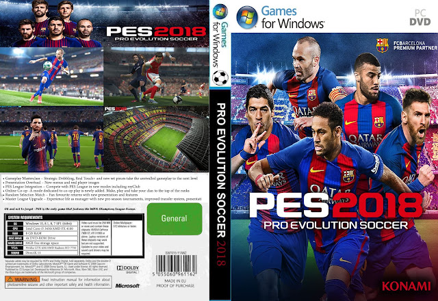 PES 18 PC Full Version Download