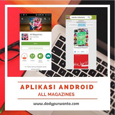 Aplikasi Android Canggih All Magazines