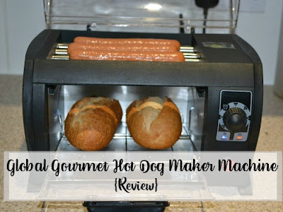 Global Gourmet Hot Dog Maker Machine
