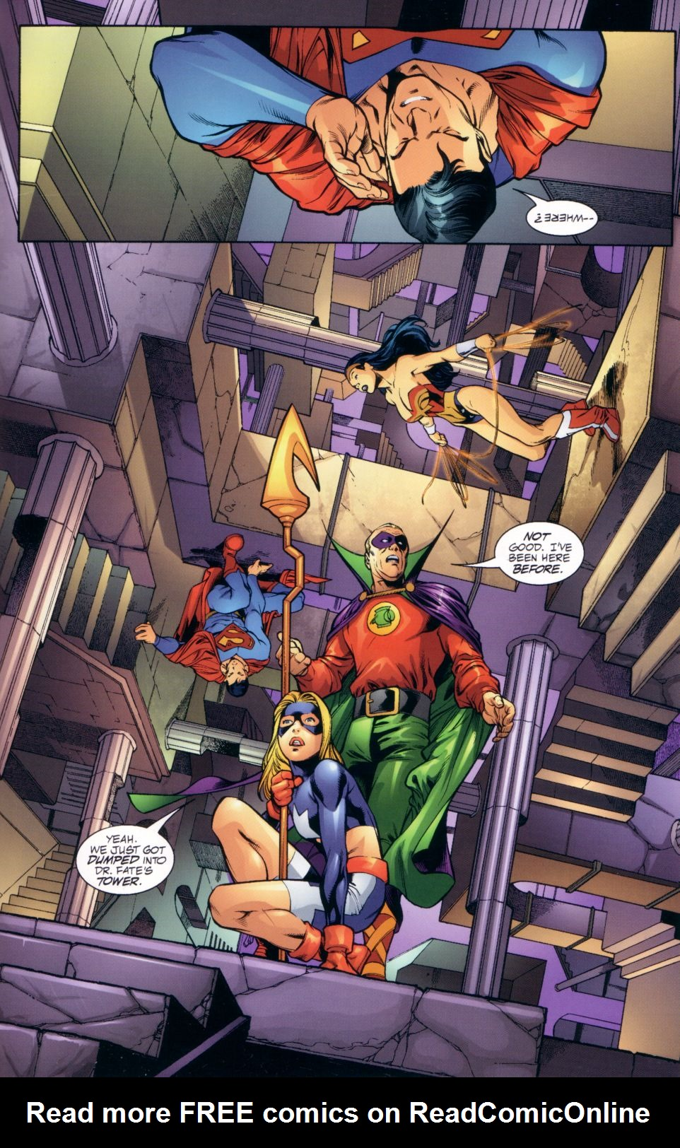 Read online JLA/JSA: Virtue and Vice comic -  Issue # TPB - 28