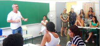 Prefeito Geraldino parabenizou equipes gestoras pela qualidade do ensino público da Ilha Comprida