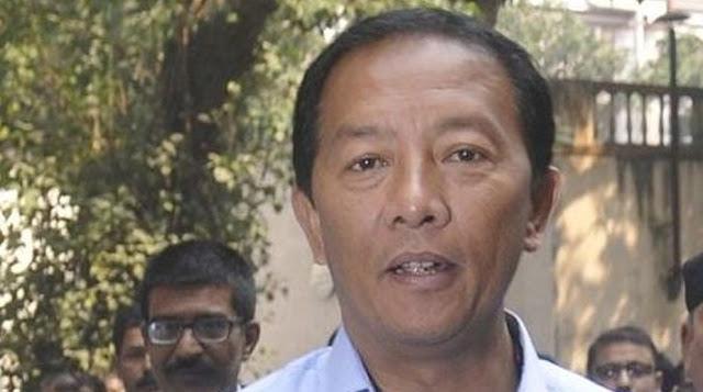 Morcha leader Binoy Tamang