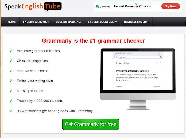 هذا البرنامج سيساعدك على تعلم الكتابة بالإنجليزية بسرعة لا تستطيع أن تتخيلهالا خوف بعد الآن من الأخطاء النحوية والإملائية، أكتب بالإنجليزية وكأنك كاتب محترفحمل Grammarly الآن مجانا!