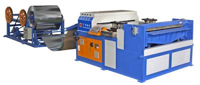 Máy sản xuất ống gió tự động Auto line 3