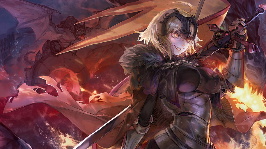 Jeanne D Arc Alter Ruler Fate Grand Order 4k Wallpaper 4 2459