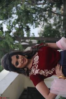 Actress Aathmika in lovely Maraoon Choli ¬  Exclusive Celebrities galleries 029.jpg