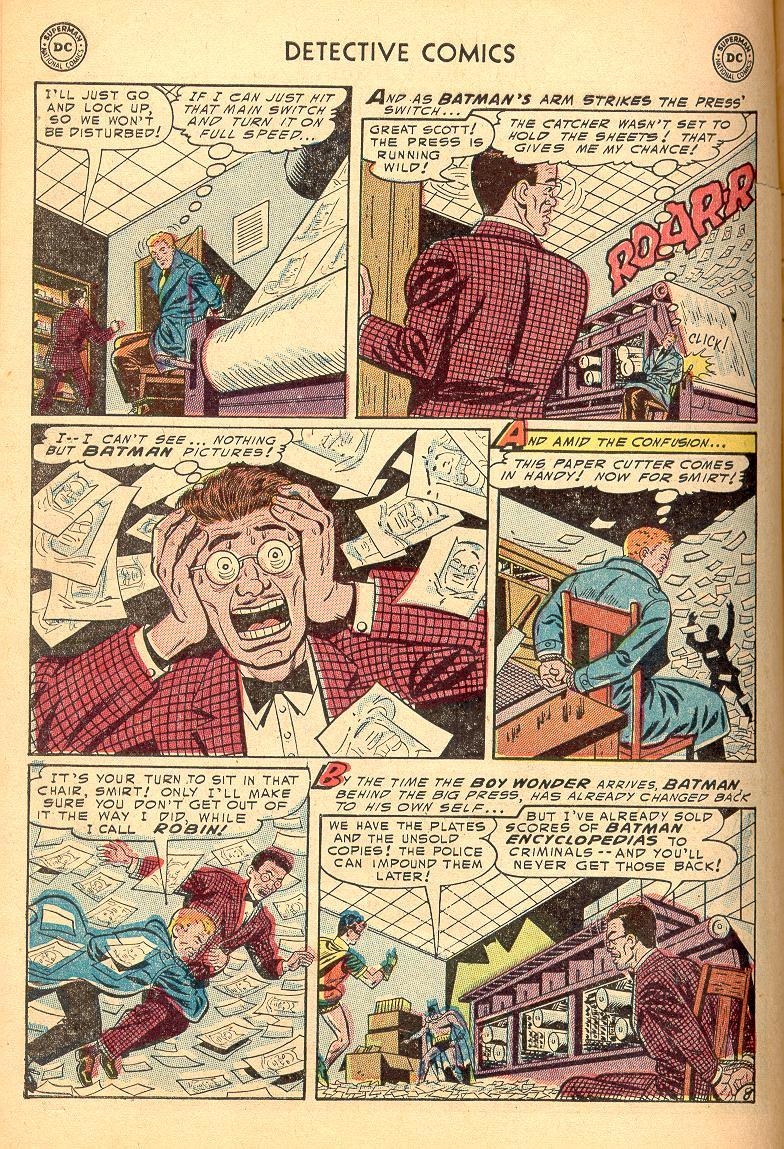 Read online Detective Comics (1937) comic -  Issue #214 - 10