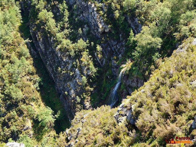 Vista a la Cascada del Xiblu