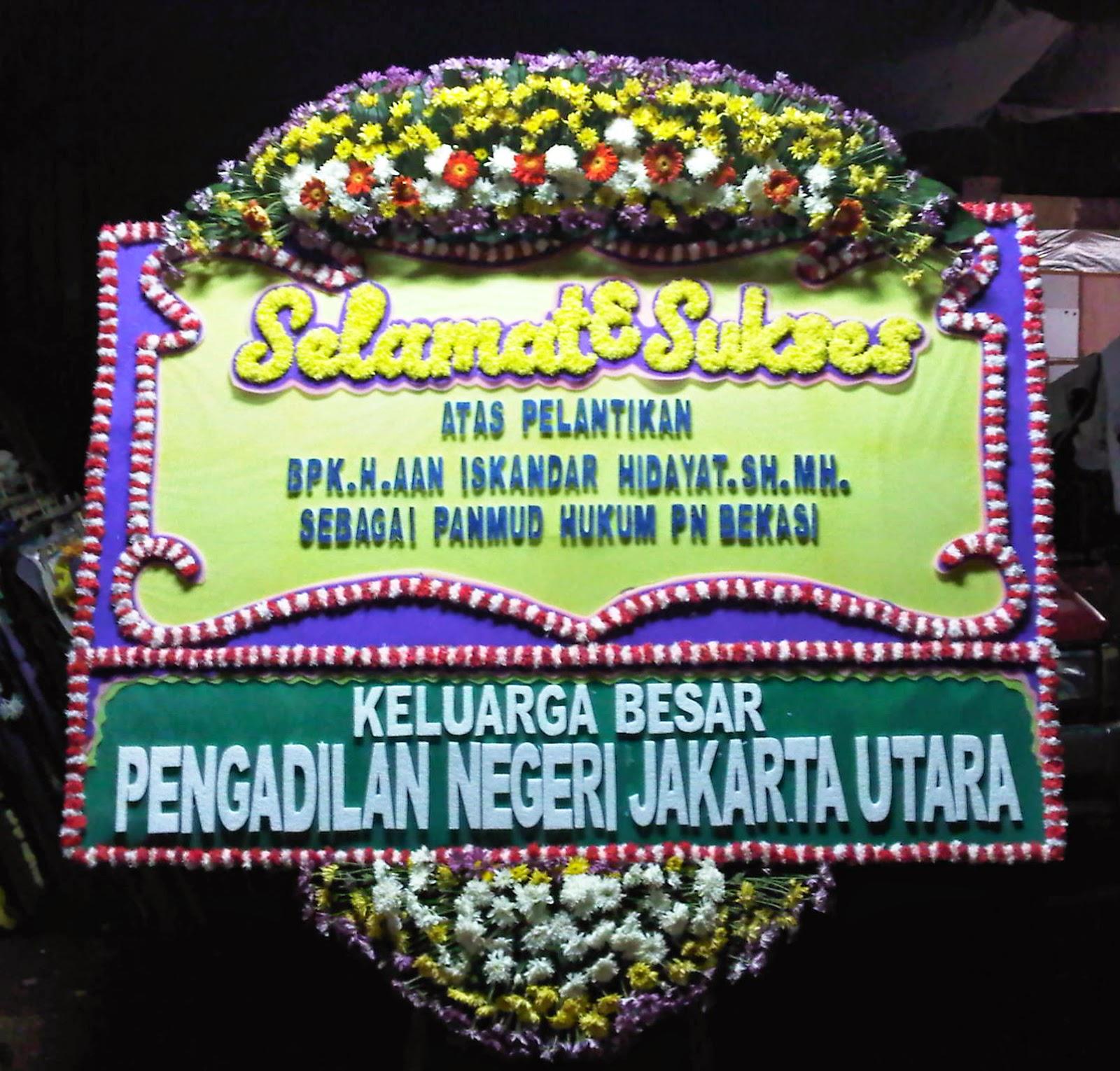 Bunga Papan Selamat dan Sukses (WS-030)