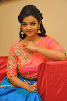 Nithya Shetty in Orange Choli at Kalamandir Foundation 7th anniversary Celebrations ~  Actress Galleries 114.JPG