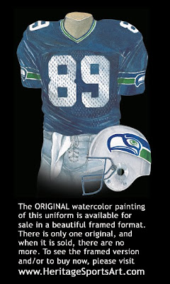 Seattle Seahawks 1987 uniform