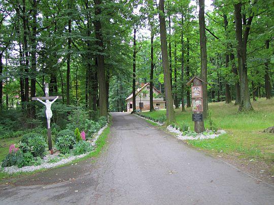 Droga do Sanktuarium św. Józefa.