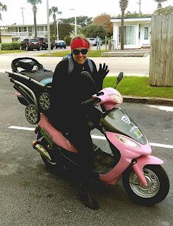 postpartum psychosis, natachia barlow ramsey, mypinkmyrtlemoped, pink moped, myrtle beach