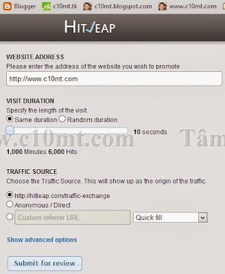 website address Hitleap Viewer