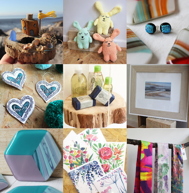 Driftwood houses, Knitted toys, Vegan soap, gift shop, lifestyle brand