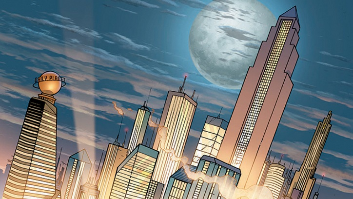 Metropolis - WBTV & DCE Announce New Live-Action Series for DC-Branded Digital Service