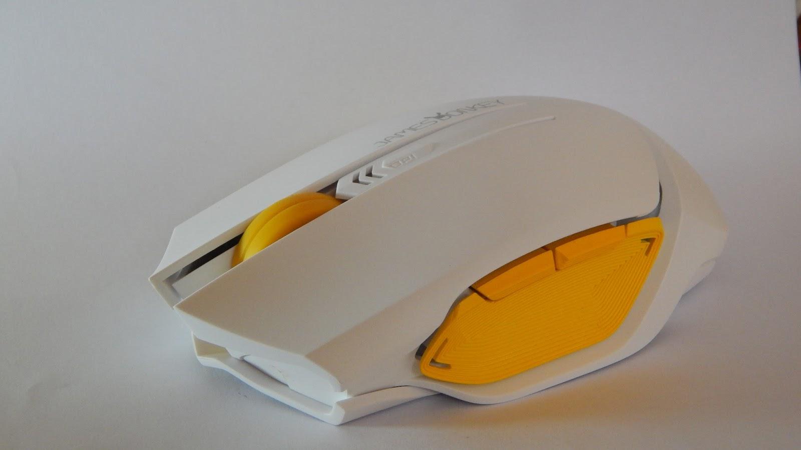 Review Produk Mouse Gaming Vivan James Donkey Izzat Portfolio 102 1600dpi 6d Wireless Optical Black Penampakan Bawah