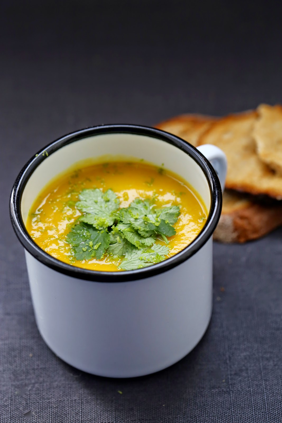soupe patate douce , courge, curry , reconfort