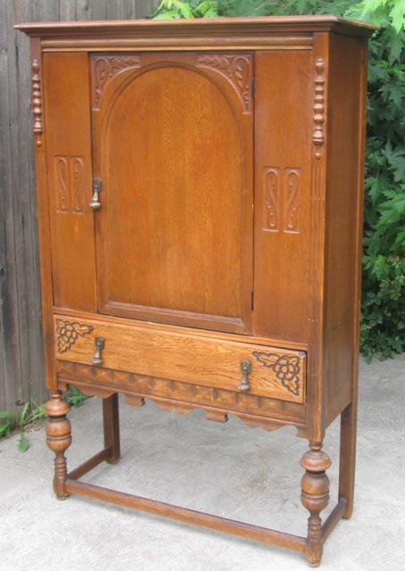vintage abernathy furniture boho chic sold antique china cabinet linen closet 3154