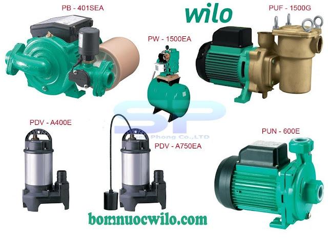 Sơ lược về dòng máy bơm nước Wilo Đức - Ảnh 2