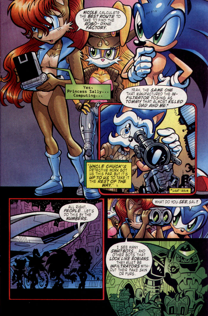 Read online Sonic The Hedgehog comic -  Issue #137 - 6