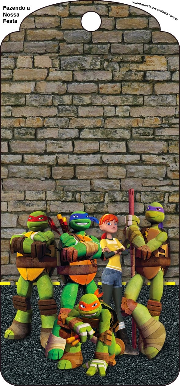 Ninja Turtles Free Party Printables and Invitations Oh My Fiesta