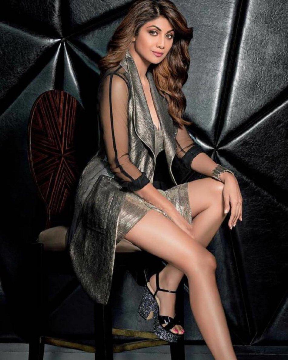 Shilpa Shetty Spicy Poses for Femina Magazine July 2017 Issue