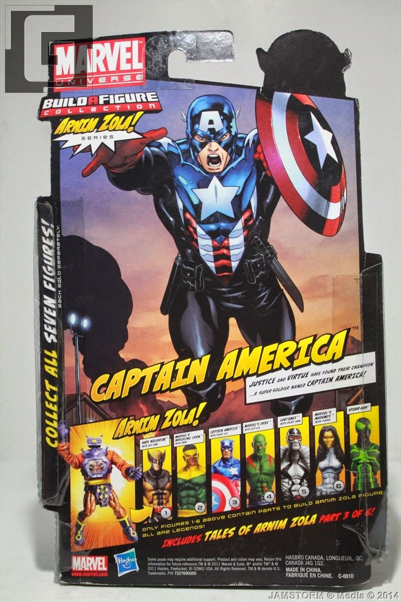 Geekmatic Marvel Legends Heroic Age Captain America