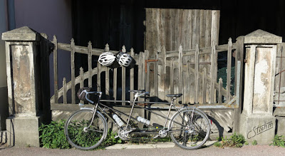 Routens tandem, ready to go.
