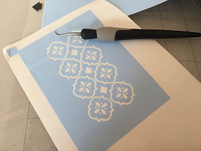 vinyl stencil silhouette cameo silhouette tutorial