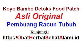 Jual harga murah koyo kaki bamboo asli original detoxs foot pacth