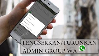 Ingin Ambil Alih Jadi Admin di Grup Whatsapp?Ini Cara Memberhentikannya