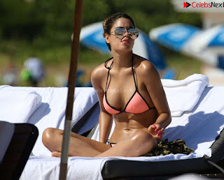 Priyanka Chopra in Orange Bikini September 2018 ~ .xyz Exclusive 006.jpg