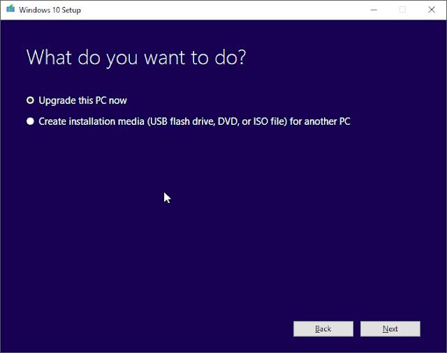 Berikut ini ialah panduan cara Download dan Instal Windows  Cara Download dan Instal Windows 10 Spring Creators Update