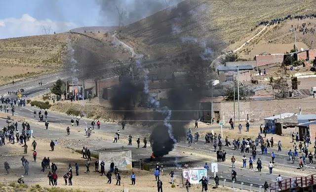 Σοκ στην Βολιβία: Απεργοί ξυλοκόπησαν μέχρι θανάτου υπουργό