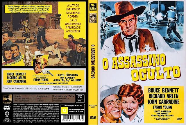 Capa DVD O Assassino Oculto