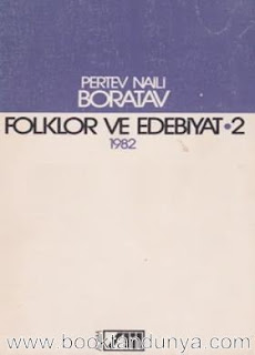 Pertev Naili Boratav - Folklor ve Edebiyat Cilt 2