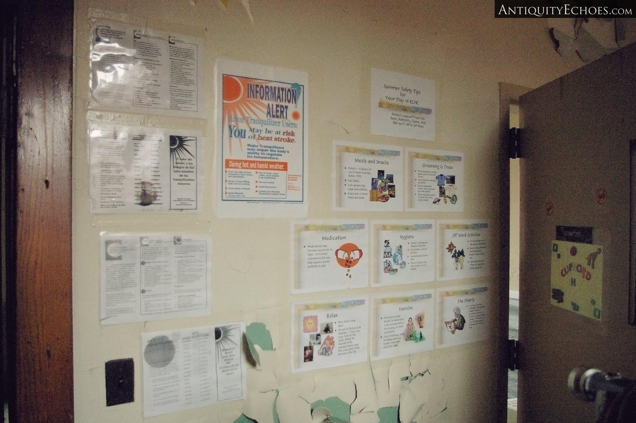 Overbrook Asylum - Bulletin Board