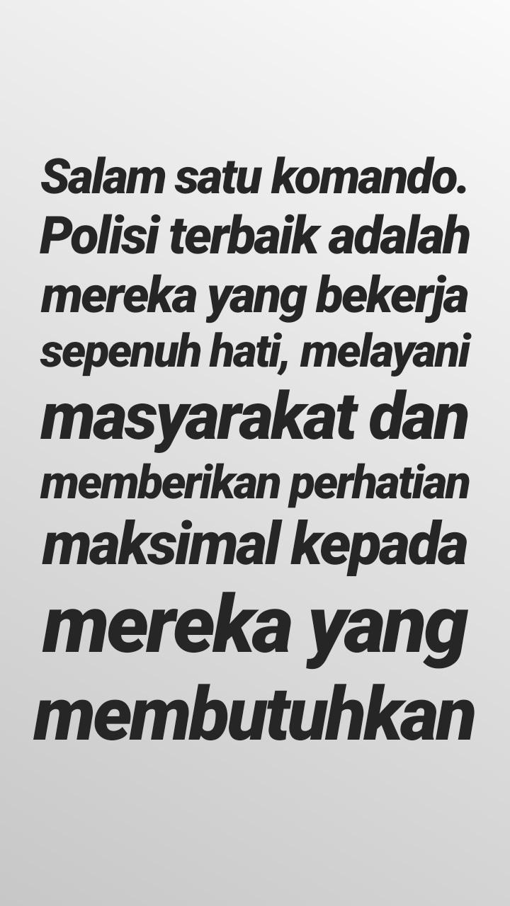 status polisi