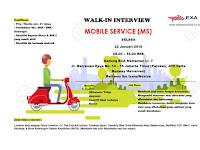 lowongan kerja mobile service exammitra solusi jakarta