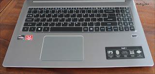 Keyboard Acer Swift AMD Ryzen yang empuk dan nyaman