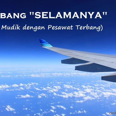 "Terbang ""SELAMANYA"" (Tips Mudik dengan Pesawat Terbang)"
