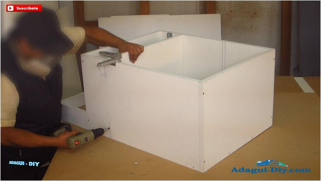 Muebles para la cocina de melamine como hacer pr ctico for Fabricar mueble de cocina