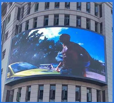 Phân phối thi công màn hình led p4 tại Lạng Sơn