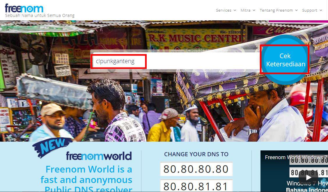 cara mendapatkan domain gratis selamanya
