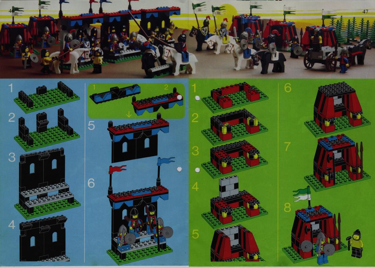 Steve S Lego Blog Special Castle Sets The Lego Idea Books