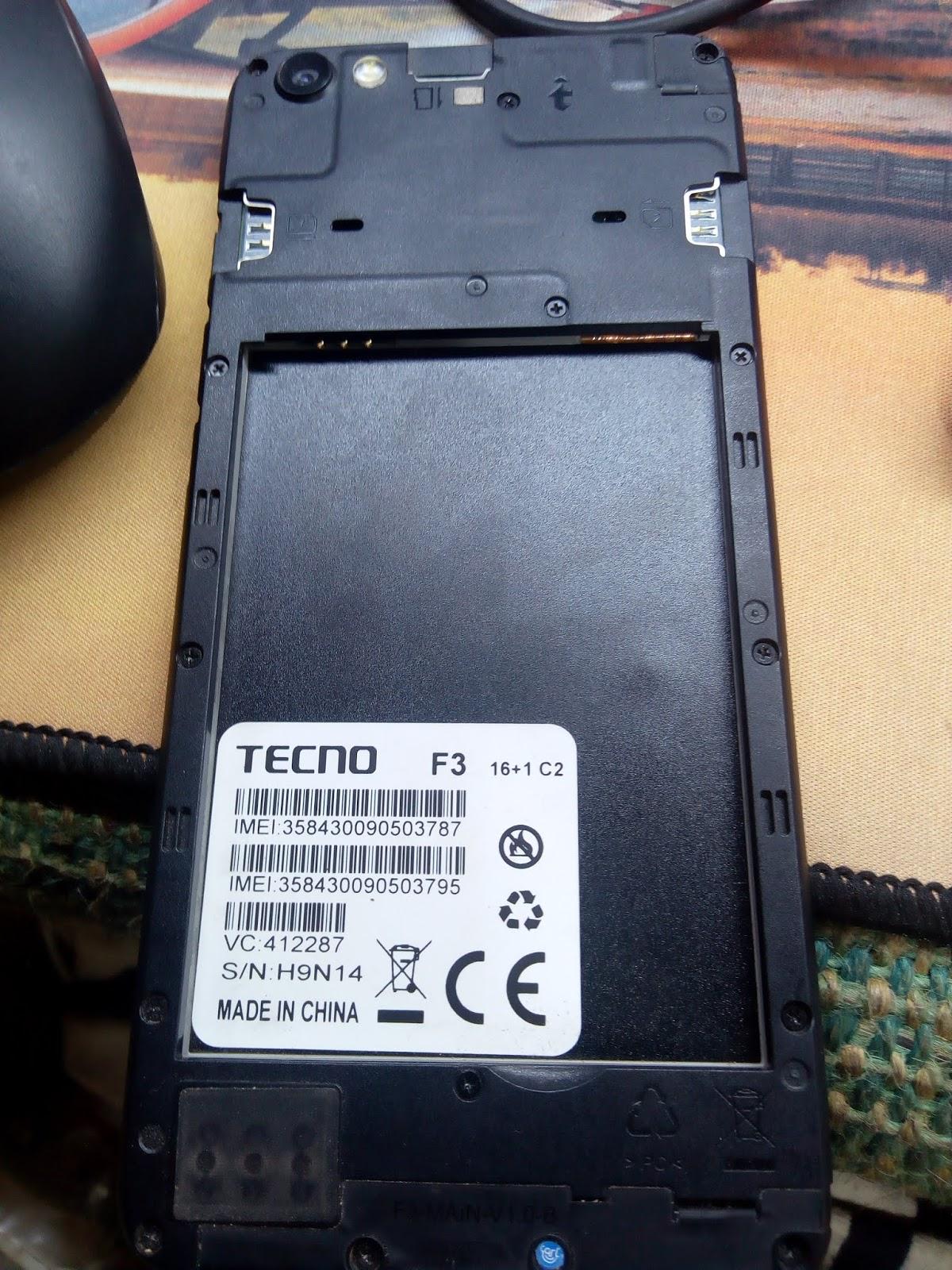 ALL TIPS FLASH FILE BORHAN: TECNO F3 MT6580 Version 7 0